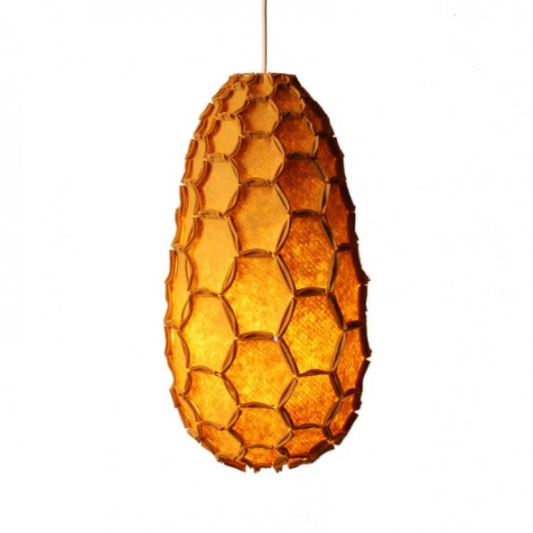 Nectar Lamp Shade Full Mustard
