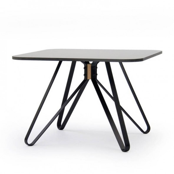 Monarch Coffee Table Outdoor Black