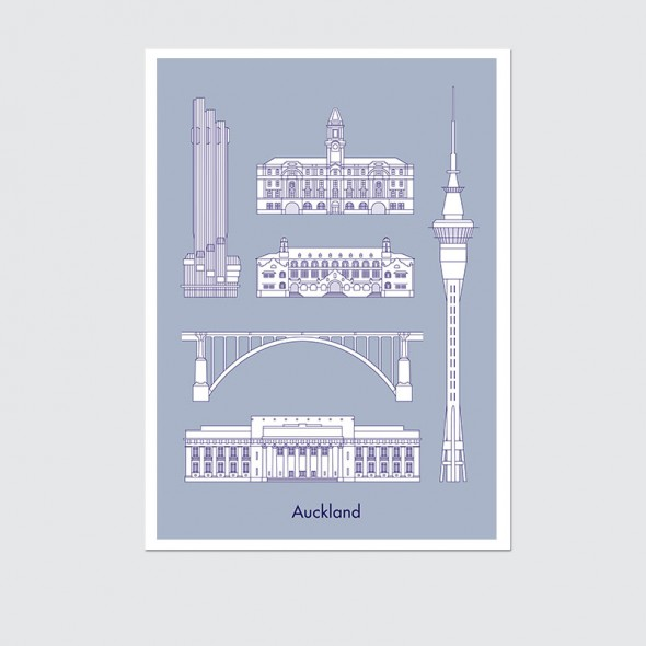 Wedding Gifts Auckland: Poster By Hamish Thompson