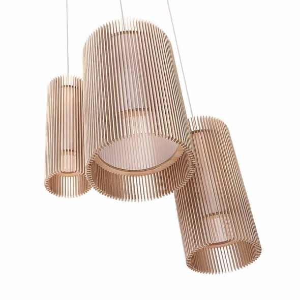 iO Long Pendant 3 sizes grouped