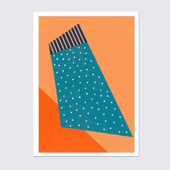 Art Print - Orange Crush