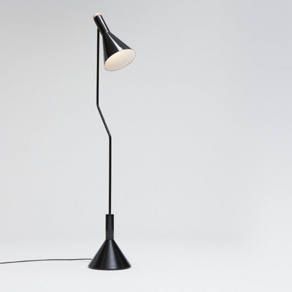 Switch Floor Lamp Black