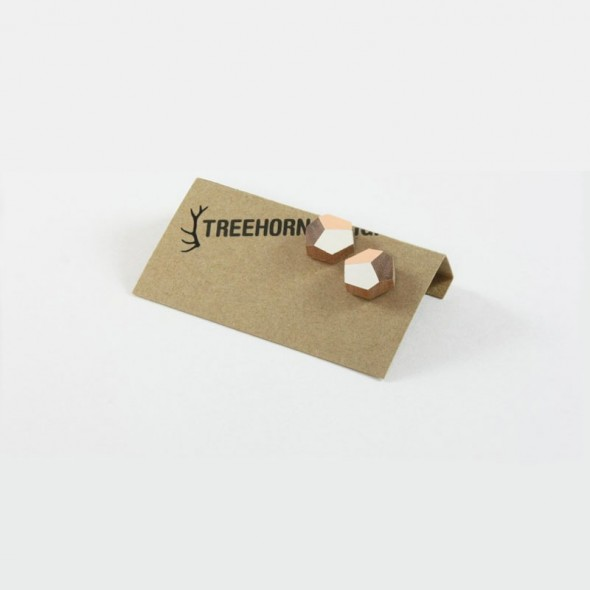 Wooden Studs by Treehorn Design