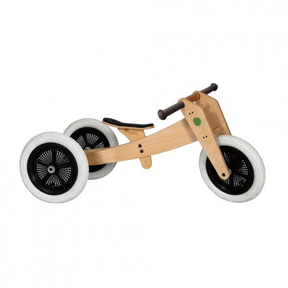 Wishbone Bike Natural 3 in 1