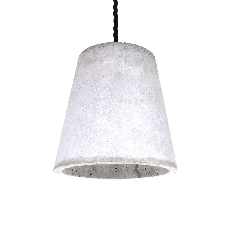 Chris johnson design auckland bunker cone pendant light concrete