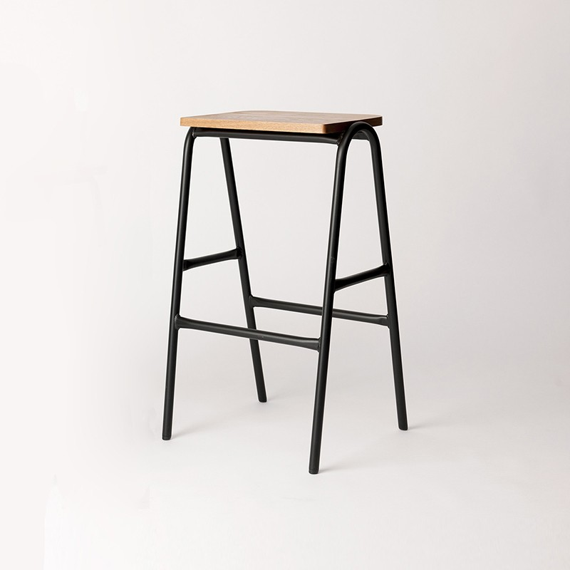The Hurdle High Stool By Dowel Jones