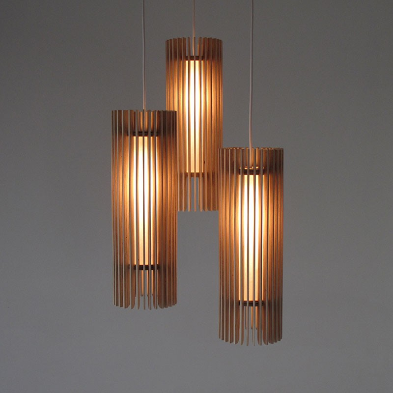 iO Flute Pendant Lamp by Maker