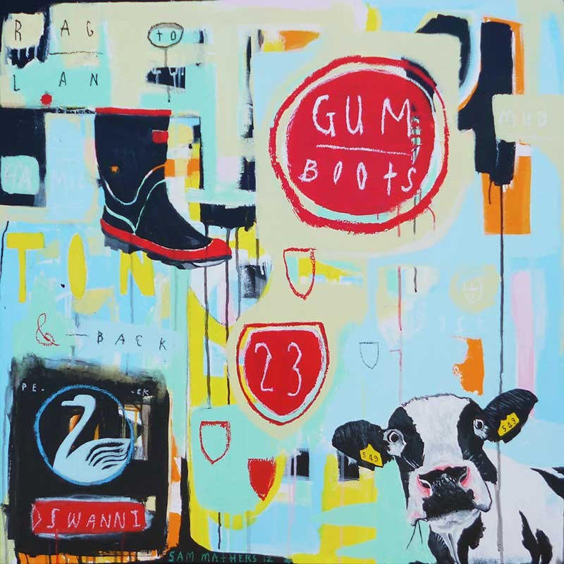 Gumboots By Sam Mathers