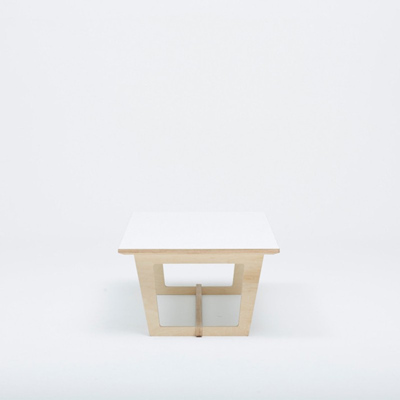 Trestle coffee table by tim webber design for Trestle coffee table