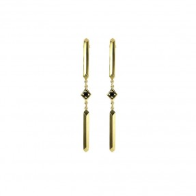 Parallel Studs Gold
