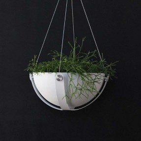 The Arbor Planter front view - White