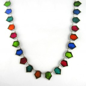 Bunting Necklace Multicoloured