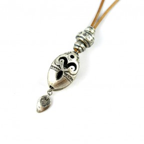 Crystal Talisman Necklace