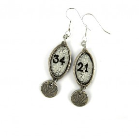 Numbers Earrings