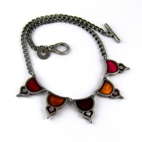 Moresque Red Necklace