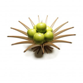 Arbolito Wooden Fruit Bowl Blonde