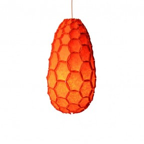Nectar Lamp Shade Full Orange