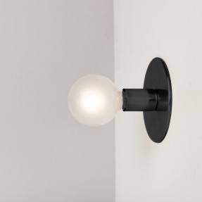 Lord sconce 150 mm - Black