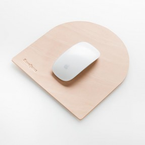 Tombstone Mousepad by Dowel Jones - Natural Leather