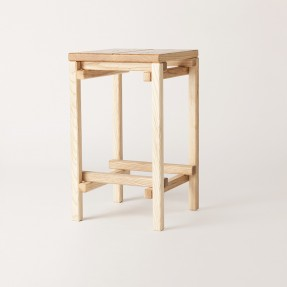Tim ber High Stool - 650 mm