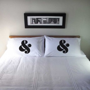 Pillowcase Set Ampersand