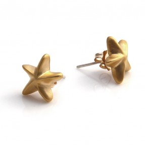 Starfish Studs Gold