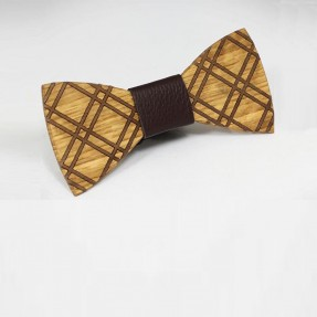 Guy Wooden Bowtie