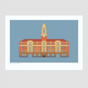 Auckland Ferry Terminal Print