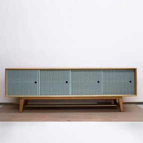 Weaver Credenza Large in Atmosphere
