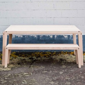 Holmes Table with Bench