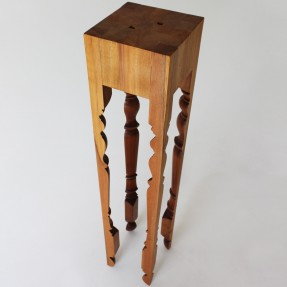 Leggy Newel - Rimu by Rupert Herring