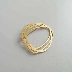 Brooch Rings Gold by Insync
