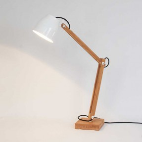 Poise Desk White - Lamp