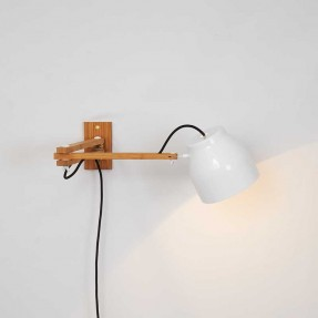 Poise Wall White - Lamp