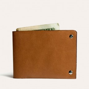 Simplistic Billfold Leather Wallet by Kiko Leather