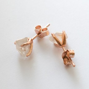 Quartz Studs by Love Hate