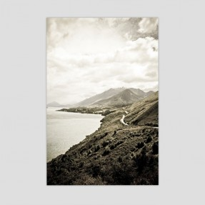 Road to Glenorchy on Canvas