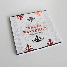 Maori Patterns - Colour your World by Mitchell Manual