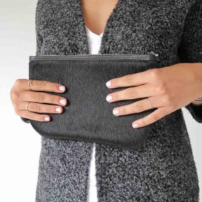 Beauty Clutch by Meniscus Leather