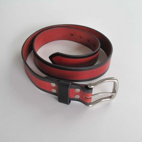 Two Tone Belt by Meniscus Leathergoods