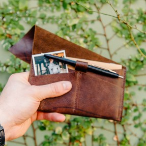 Passport Cover Ruckle by Meniscus Leather