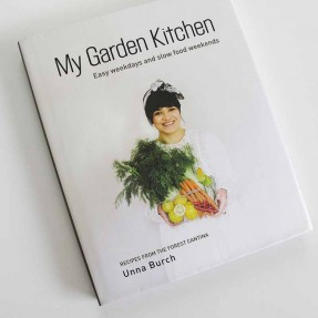Unna Church - My Garden Kitchen -Sample Shown is HARD COVER