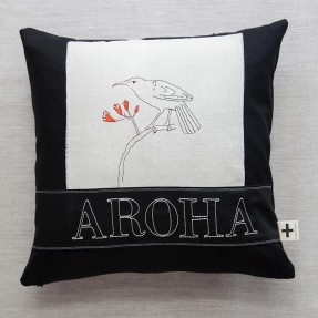 'Aroha tui' trade cushion