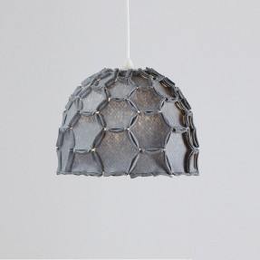 Nectar Half Lampshade Dark Grey
