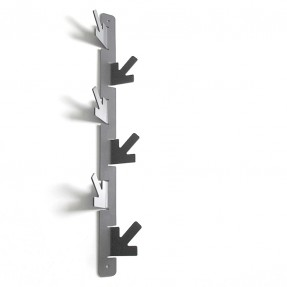 A Vertical Coat Hook - 6 Hook