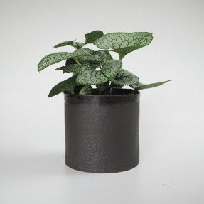 Stoneware Planter Black by Renee Boyd