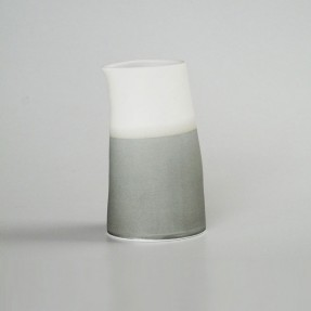 Ceramic Jug Tall Dark Grey by Renee Boyd