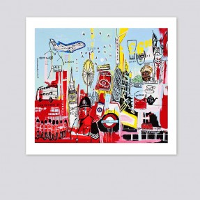 London Town, whole print including Paper