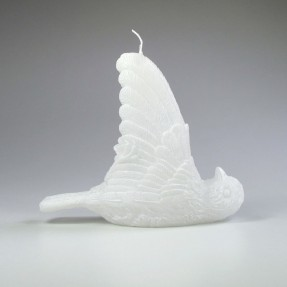 Sparrow Candle - White