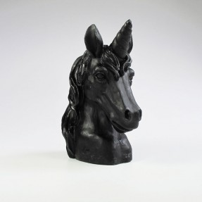 Unicorn Candle - Black